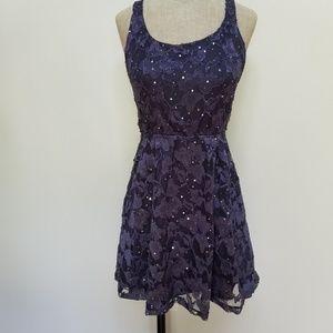 Wet Seal Lace Open Back Dress